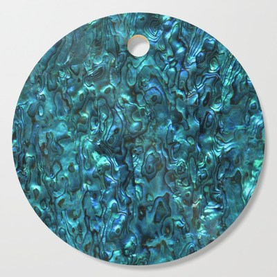 Abalone Shell, Paua Shell, cutting boards by Eclectic at HeART