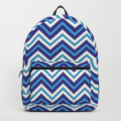 Chevron Pattern backpack by Eclectic at HeART