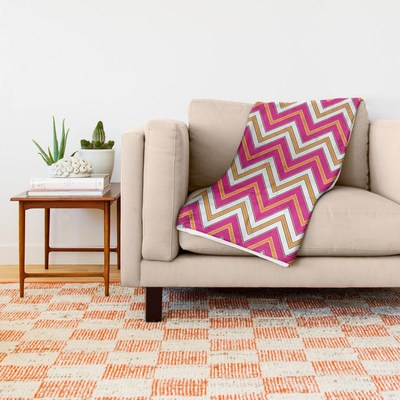 Chevron Pattern throw blankets by Eclectic at HeART