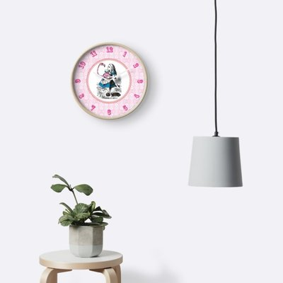 Alice in Wonderland wall clock by Eclectic at HeART