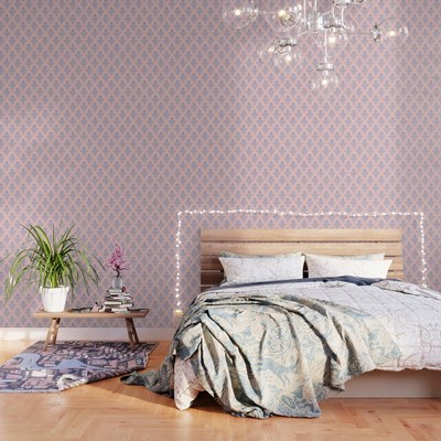 Damask Pattern wallpaper by Eclectic at HeART