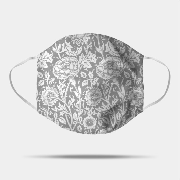 William Morris Floral Pattern face mask by Eclectic at HeART