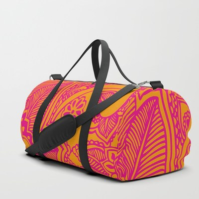 Floral Pattern duffle bag by Eclectic at HeART