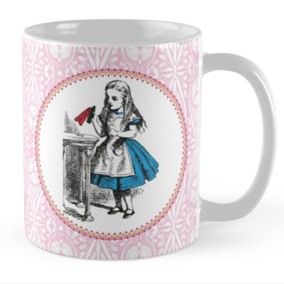 Alice in Wonderland mugs by Eclectic at HeART