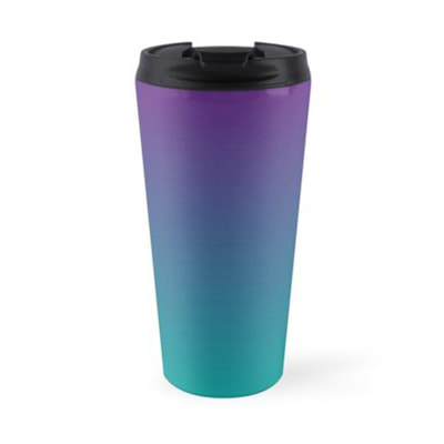 Ombre travel mugs by Eclectic at HeART