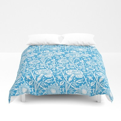 William Morris vintage floral pattern duvet covers by Eclectic at HeART